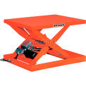 PrestoLifts™ Powered Scissor Lift Table XS36-10F pied contrôle 1000 Lb.