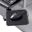 """Global Industrial™ Mouse Tray, 8""""W x 8""""D, 360'Rotation, Noir, 1/Pack"""