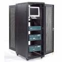 Network Server Data Rack Enclosure Cabinet with Vented Doors, 37U, Unassembled