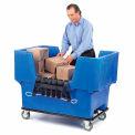 Dandux bleu facile accès 18 boisseau plastique Mail & boîte de camion 51166718U-5 avec Cargo Net