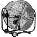 "36"" Tilt Drum Blower Fan - Portable - Belt Drive - 10500 CFM - 1/3 HP"