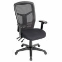 Mesh Task Chair - Fabric - High Back - Black