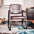 Antimicrobien réception chaise - vinyle - Bourgogne