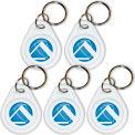 Breloques porte-clés TimeTrax Prox, Pack de 5