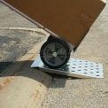 """B & P Wedge Curb rampe CRW2224 22"""" W x 24"""" L capacité de 600 lb"""