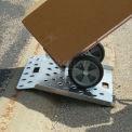 "B & P déclenché bord Curb rampe CRP2745 W 27"" x 45"" capacité 500 lb L"