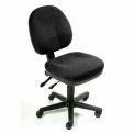 Interion® tâche fauteuil - tissu - noir