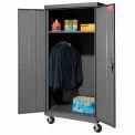 Sandusky Mobile armoire armoire TAWR462472 - 46 x 24 x 78, charbon de bois