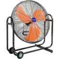 "Global Industrial™ 36"" Tilt Blower Fan - Portable - Direct Drive - 13300 CFM - 2/3 HP"