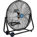 "24"" Tilt Floor Fan - Portable - Direct Drive - 7700 CFM - 1/4 HP"