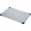 """Nexel S1860SZ Solid Galvanized Shelf 60""""W x 18""""D with Sleeves"""
