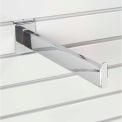 "12"" Slat Wall Accessory Shelf Bracket Tubular - Pkg Qty 24"