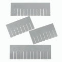 Width Divider DS92080 for Plastic Dividable Grid Container DG92080, Price for Pack of 6