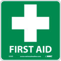 Graphic Facility Signs - First Aid - Plastic 7x7