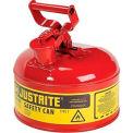 Justrite® sécurité pouvez taper j'ai - un Gallon en acier galvanisé, rouge, 7110100