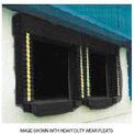 Joint noirde porte de quai de chargement Chalfant de modèle131 robuste40 onces 8 pi larg. x 10 pi haut.