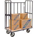High End Wood Shelf Truck 48 x 24 2400 Lb. Capacity