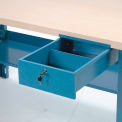 Steel Bench Drawer With Lock