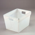 Corrugated Plastic Totes - Postal Nesting- Without Lid 18-1/2x13-1/4x12 Natural - Pkg Qty 10