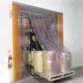 Rideau à lanières résistant aux égratignures10 pi l x10 po H