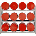 Modern Equipment MECO DPR12 3 Tier Drum Pallet Rack