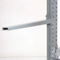 "Cantilever Rack Straight Arm No Lip, 36"" L, 1500 Lbs Capacity"