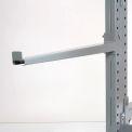 """Cantilever bras droite avec 2 pouces pour les lèvres (série 2000), 48"""" L, capacité 600 Lbs"""