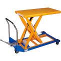 Vestil Foot Operated Mobile Scissor Lift Table CART-23-15-M 36 x 24 1500 Lb.