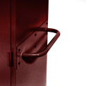 Sandusky Cabinet Push Handle TSH, Burgundy