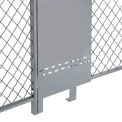 Fill-A-Gap Adjustable Panel for 8' Wire Mesh Partition