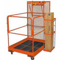 Forklift Maintenance Platform All Welded 48x40