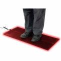 "Cozy Products Foot Warmer™ Heated Floor Mat 36"" x 16"" Black"