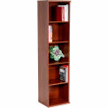 Bush Furniture Single Bookcase with 5 Shelves - Hansen Cherry - Series C