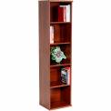 Bush Furniture Single Bookcase with 5 Shelves - Hansen Cherry - Series C