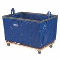 Meilleure valeur 24 boisseau vinyle bleu panier en vrac camion