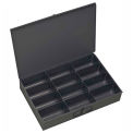 Durham Steel Scoop Compartment Box 115-95 - 12 Compartments 18 x 12 x 3 - Pkg Qty 4