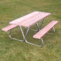 Portable Picnic Table 6' Pressure Treated Wood