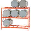 Équipement moderne MECO DR9 Drum Rack de stockage - stockage 9 tambour