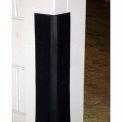 Durable Black Rubber Corner Guard CG-2, Sold per Foot up to 10 Foot Length Maximum