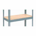 "Additional Shelf Level Boltless Wood Deck 48""W x 12""D"