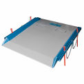Bluff® 20C7296 Steel Red Pin Heavy Duty Dock Board 72 x 96 20,000 Lb. Cap.