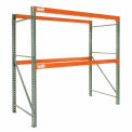 "Global Tear Drop Pallet Rack Starter W 120"" x 48 « D x 120"" H"
