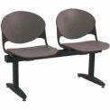 KFI Beam Seating - 2 Charcoal Seats