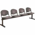 KFI Beam Seating - 4 Charcoal Seats
