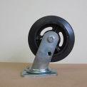 """8"""" Mold-on Rubber Swivel Caster 8218-SR for Little Giant® Carts"""