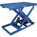 Bishamon® OPTIMUS Lift2K Power Scissor Lift Table 48 x 36 2000 Lb. Cap. Foot Control L2K-3648