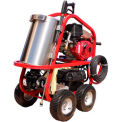 HOT-2-GO SH40004HH 4000PSI 13.0HP 3.5GPM Gas Diesel Hot Water Pressure Washer W/Honda GX390 Engine