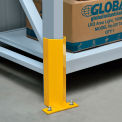 "Pallet Rack Frame Guard 12"" H, with Hardware - Yellow"