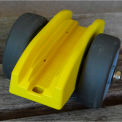 PlyWheels Plywood, Drywall & Glass Sheet Panel Mover PW001 250 Lb. Cap.