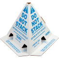 "Global Industrial™ ""Do Not Stack"" Pallet Cones - Anglais - 50 Pack"